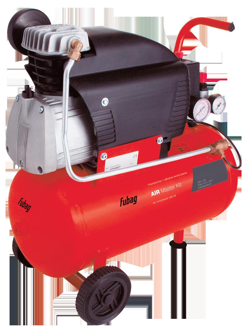 Масляный компрессор FUBAG Air Master Kit + 6 предметов