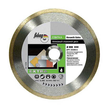 Алмазный диск Fubag Keramik Extra 200/30/25.4 (1,6mm)