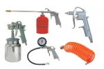 Набор пневмоинструмента FUBAG 5 предметов - к/р с нижним бачком (120102)