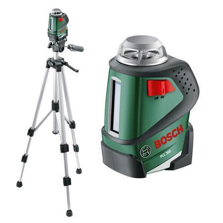 Лазерный нивелир BOSCH PLL 360 Set + штатив (0603663001)