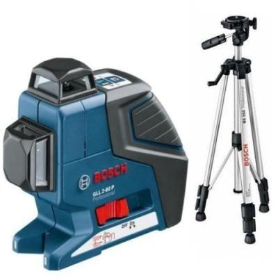 Линейный лазер BOSCH GLL 2-80 P + BS 150 (0601063205)