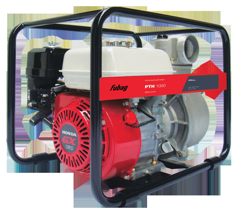Мотопомпа для чистой воды Fubag PTH 1000