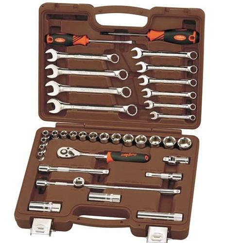 OMT37S OMBRA Универсальный набор инструмента, торцевые головки 3/8 DR 6-22 мм, 37 предметов