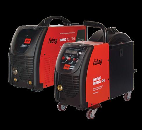 Полуавтомат инверторный Fubag INMIG 400T DG + DRIVE INMIG DG + горелка FB 450