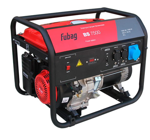 Генератор бензиновый FUBAG BS 7500