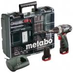 Аккумуляторная дрель-шуруповерт Metabo PowerMaxx BS Basic Set 2x2.0 (600080880)