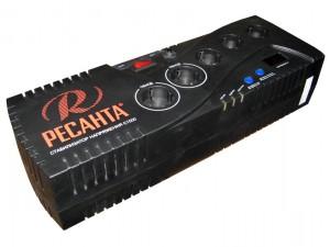 Стабилизатор напряжения РЕСАНТА C1500 (1000Вт + защита RJ11)