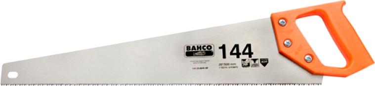 Ножовка BAHCO не каленый зуб 400 мм