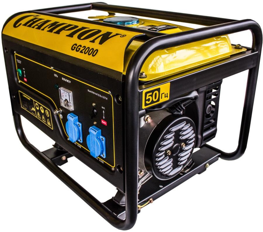 Генератор бензиновый CHAMPION GG2000