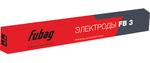 Электроды Fubag сварочный с рутилово-целлюлозным покрытием FB 46 D4.0 мм (пачка 1 кг)