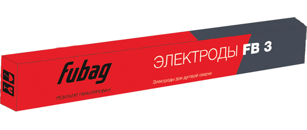 Электроды Fubag сварочный с рутиловым покрытием FB 3 D 4.0 мм 1 кг