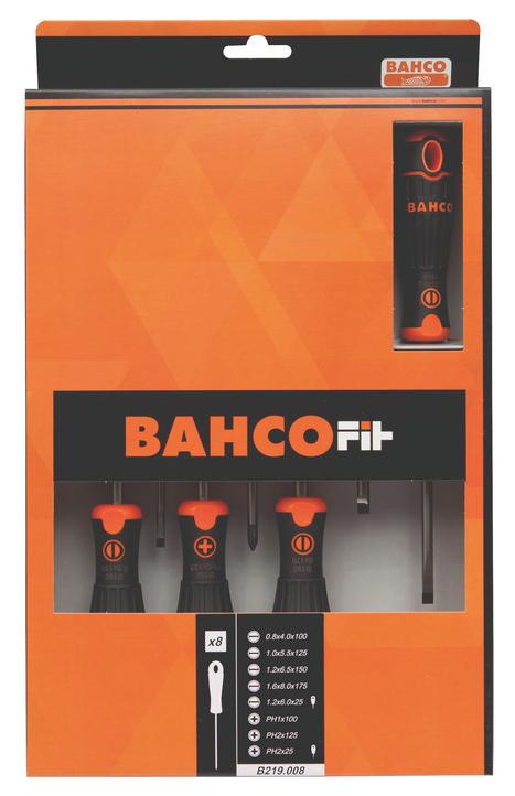Набор отверток BAHCO Fit