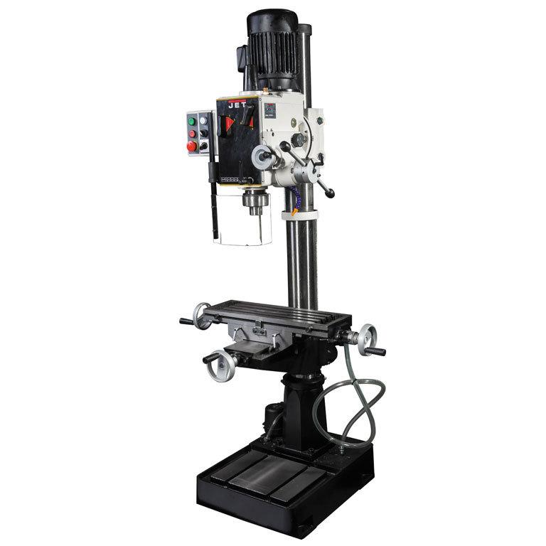 Редукторный сверлильный станок по металлу JET GHD-46PFCT