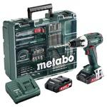 Шуруповерт METABO BS 18 LT Set (602102600)