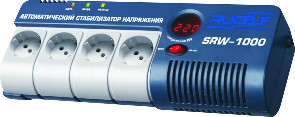 Стабилизатор напряжения релейный RUCELF SRW- 1000-D