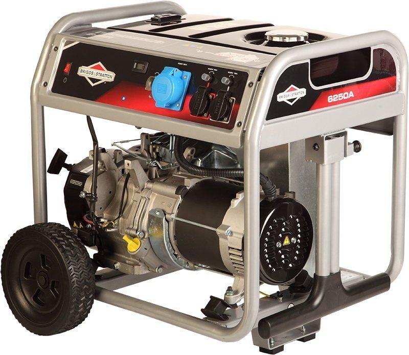 Бензиновый генератор Briggs&Stratton 6250 A