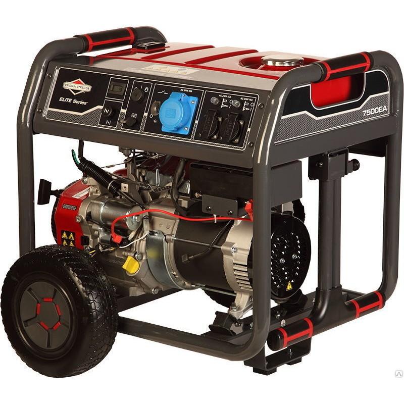 Бензиновый генератор Briggs&Stratton Elite 7500 EA