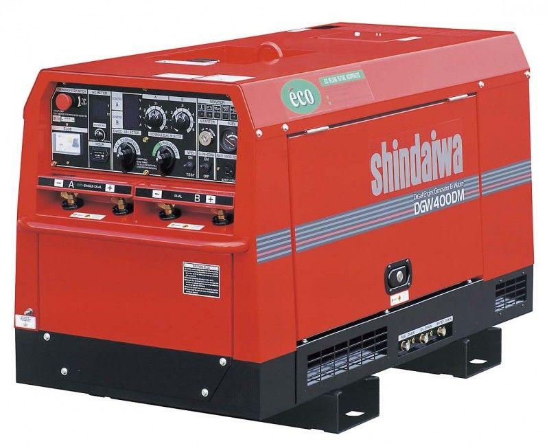 Дизельный сварочный генератор SHINDAIWA DGW400DMK