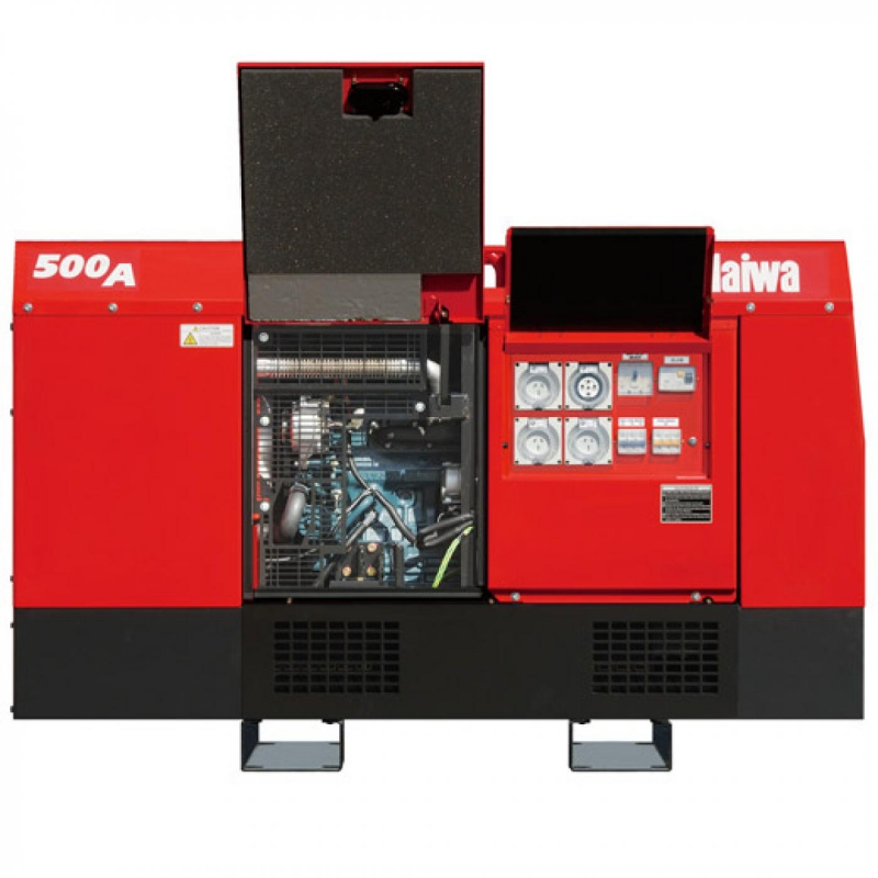 Дизельный сварочный генератор SHINDAIWA DGW500DM_RU