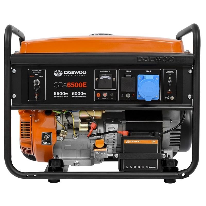 Генератор бензиновый DAEWOO GDA 6500E