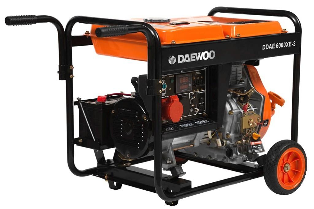 Генератор дизельный DAEWOO DDAE 6000XE-3