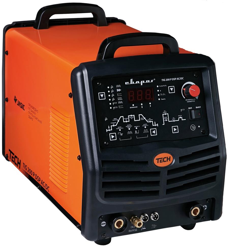 Сварочный инвертор Сварог TIG 200 P AC_DC DSP TECH E104